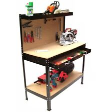 06060 Banco de trabajo 1150 mesa de trabajo mesa para taller pared herramientas