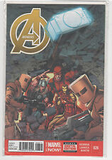 Avengers (Volume 5) #26 Captain America Wolverine Hulk Iron Man Spiderman 9.2