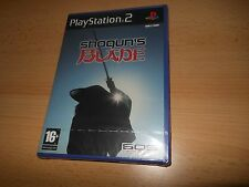 SHOGUN'S BLADE PlayStation 2 UK PAL English PS2 NEW SEALED