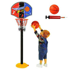 Children Kids Mini Basketball Indoor Play Net Hoop Set Adjustable Sport Toy Game