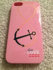 Peace Love World I Am Love Infinite Anchor iPhone 5 Cell Phone Case Hard Back