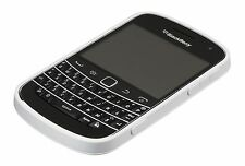 NEW GENUINE BLACKBERRY HARD SHELL BOLD 9900 9930 CASE WHITE GREY WITH PACKING