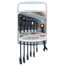 METRIC RATCHETING COMBINATION SPANNER SET DRAPER HI-TORQ® (7 PIECE)