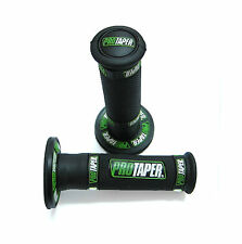 "7/8"" Protaper Throttle Hand Grips CRF CR KX KLX KXF RM Mini ATV Dirt Bike Green"