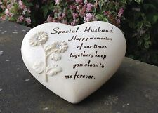 Heart Design Grave Ornament For Special Husband Funeral Memorial Graveside