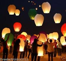 50PCS BIG Sky Lantern Flying Lantern Diwali Home decoration Wedding Lamp Flying