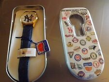 New York Yankees Sun Watch MLB Genuine features magically floating second hand