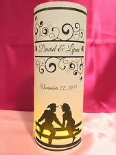 10 Personalized Country Western Wedding Luminaries Table Centerpieces Decoration