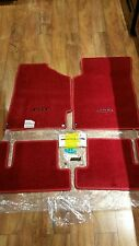 87-91 JDM RARE Oem Genuine RHD Floor mats Red New factory Refre access Special