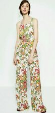 Zara Woman Long floral Printed Jumpsuit blogger favorites sold out 2453/837 XS