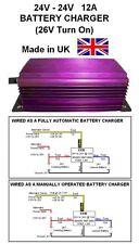 24V to 24V BATTERY CHARGER 12AMP 288W DC-DC (26V Turn On) Model E930