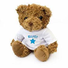 NEW - ELLIOT - Teddy Bear - Cute And Cuddly - Gift Present Birthday Xmas