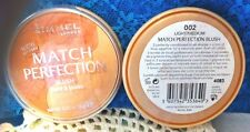 """1"" RIMMEL MATCH PERFECTION Blush  - 002 Light/Medium"
