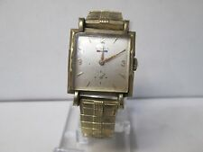 Antique Benrus 10K Gold Filled Running Watch 17 Jewels L78