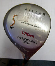 zNOS * Blast from the Past * Unused Wilson 1995 Killer Whale 5W-20.0* RH-S steel