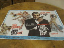 large james bond 007 from russia with love film movie poster