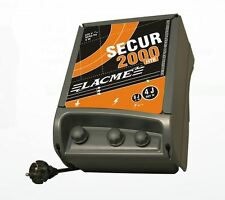 Lacme Secur 2000 Mains Electric Fencing Energiser - Power upto 35km of Fencing