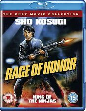RAGE OF HONOR    BLU-RAY     UK  NEW/SEALED   SHO KOSUGI