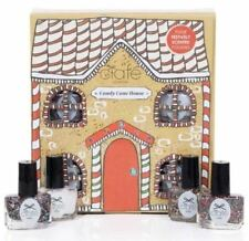 Ciate Candy Cane House 4 Festively Scented Mini Nail Polishes Set New in Box