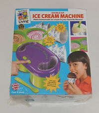 New Sealed Small World Living Double Dip Ice Cream Machine R10804