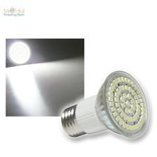 E27 LED-Strahler Leuchtmittel 60x POWER SMD LEDs - WEISS E 27 Lampe Birne Spot
