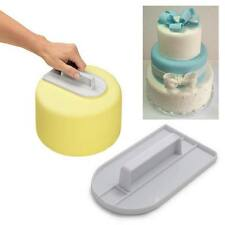 CAKE ICING BUTTER SMOOTHER SPREADER FONDANT PADDLE DECORATING POLISHER FINISHER