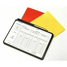 Referee Cards Red/Yellow Football Sport Wallet Notebook Pencil Soccer Set