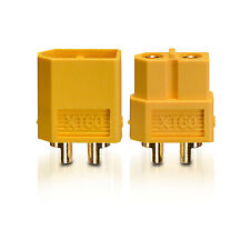 High current XT60 Plug Socket Gold contact plug 1 Pair partCore 100138