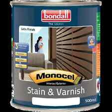 Bondall 500ml Baltic Pine Monocel Stain And Varnish