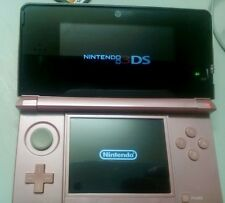 Nintendo 3DS Princess Peach Pink Handheld System plus 5 games and 2gig sd card