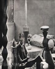 1922/63 Vintage 11x14 CONSTANTIN BRANCUSI Sculptor Painter Art ~ EDWARD STEICHEN