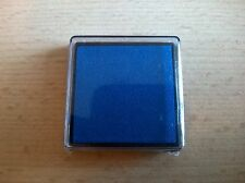 BLUE INK PAD (BRAND NEW SEALED) RUBBER STAMP FINGERPRINT 35mm x 35mm