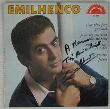 Dédicace Emilhenco 45 tours 1967
