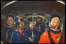 323049 SHUTTLE Crew A4 FOTO STAMPA