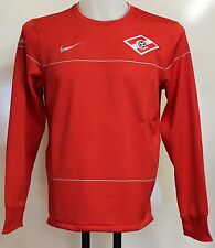 SPARTAK MOSCOW PLAYER ISSUE RED SWEAT TOP BY NIKE SIZE XXL BRAND NEW