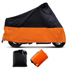 XXXL Motorcycle Waterproof Outdoor Dust Rain Cover Protector For Harley Davidson