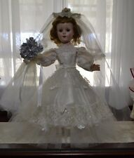 "Simply Amazing 1950's 21"" American Character Sweet Sue Bride Doll"