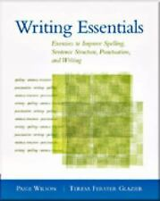 Writing Essentials: Exercises to Improve Spelling, Sentence Structure,-ExLibrary