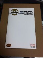 Secret Wars:Age of Ultron vs Marvel Zombies #1 blank sketch variant.First print.