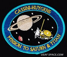 CASSINI HUYGENS MISSION TO SATURN & TITAN ORIGINAL NASA JPL SPACE Mission PATCH