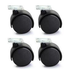 4pcs Nylon Swivel Caster Wheel for Cart Trolley Furniture DIY New