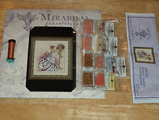 "NEW!! Mirabilia MD124 ""ROSES OF PROVENCE"" Pattern, Embellishment Pack, & Kreink"