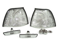 DEPO 97-98 BMW E36 3D/4D CLEAR CORNER + SIDE MARKER LIGHT + 2 PAIRS CHROME BULBS