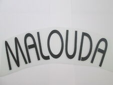 Malouda Chelsea European Football Shirt Name Set Name Block only Kids Youth