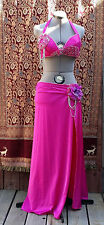 Pink professional bellydance costume