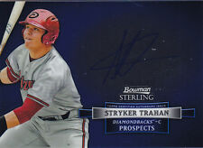 2012 BOWMAN STERLING STRYKER TRAHAN RC ROOKIE AUTO #BSAP-ST