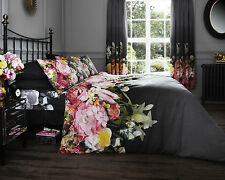 Faded Floral Design Duvet Covers Quilt Covers Reversible Bedding Sets All Sizes