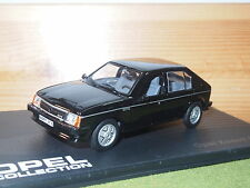 OPEL Kadett / Vauxhall Astra GT/E 5 Door 1983 - 1984 in Black 1/43rd Scale