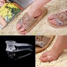 New 2pcs Gel Pain Relief Stretchers Straightener Alignment Bunion Toe Separator