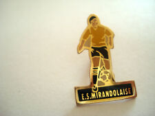 PINS RARE ASSOCIATION CLUB JOUEUR DE FOOTBALL ES MIRANDOLAISE MIRANDOL FOOT